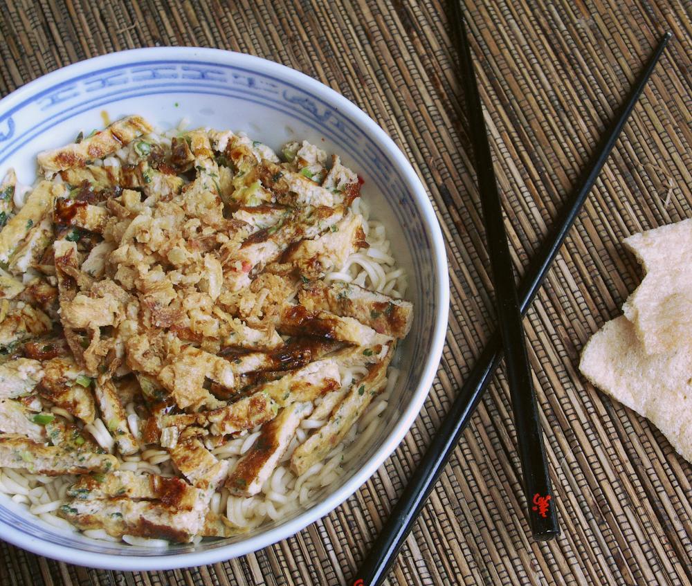 Indische noodles
