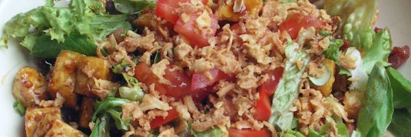 tahu salade