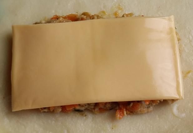 Kaas op de vulling 618