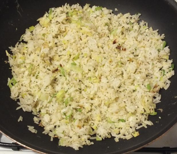 1e portie nasi gebakken