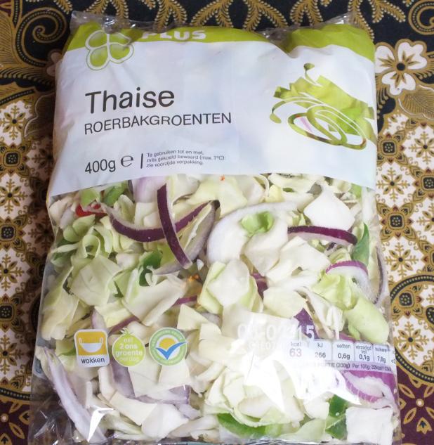 Thaise roerbakgroenten