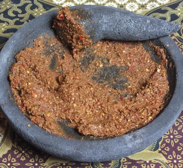boemboe katjang klaar