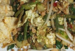 Petjel (pecel, petjil), Indische groentesalade met pindasaus