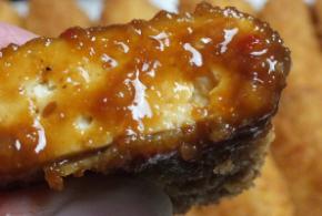 Tahoe goreng – vegaterische snek