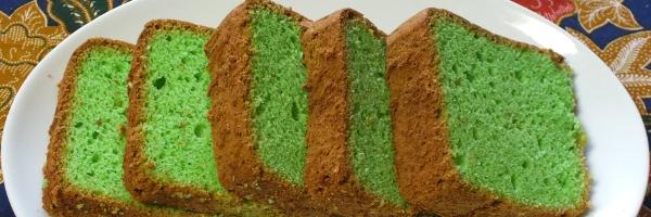 plakjes spons cake