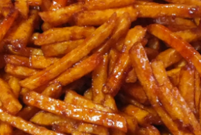 sambal goreng kentang kering cepat – snelle, Indische frietsticks